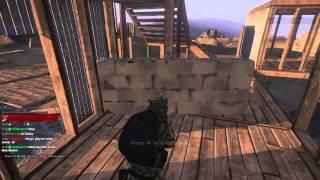 Arma 3 Plot pole, cinder wall