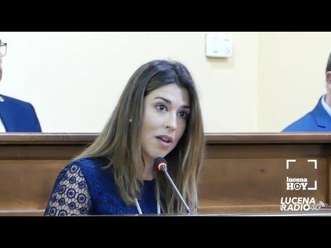 Intervención Teresa Alonso (PSOE) en el pleno de constitución de la nueva corporación