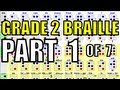 watch he video of Grade 2 Braille [1/7] - How to Memorize 50 of the 64 Braille Cells