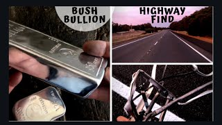 Highway Treasure Bush Bullion - Highway Scrap Metal Melted Into Bullion Bars