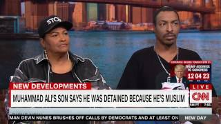 Video: Muhammad Ali's Son Says He Was Detained Because He is Muslim (CNN)