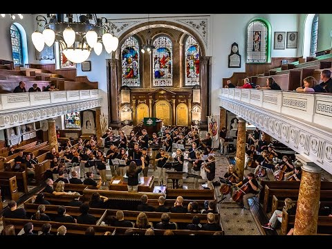 Performance at Wesley's Chapel in London, England