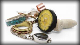 How to polish jewelry with a dremel or flex shaft [Beginner Friendly]