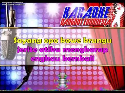 SAYANG - Via Vallen (Karaoke Dangdut Indonesia)