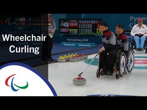 [Korea v Norway] | Semi-final |Wheelchair Curling | PyeongChang2018 Paralympic Winter Games