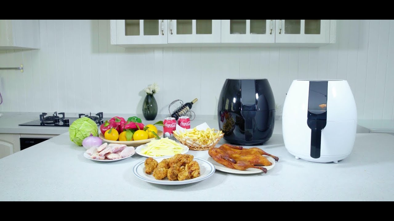 Costway Electric LCD Touch Screen Timer Digital Air Fryer (EP23109 ...