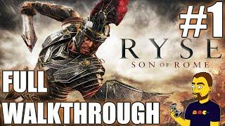 Ryse: Son of Rome walkthrough part #1 - The Beginning | GAMEPLAY | 1080p