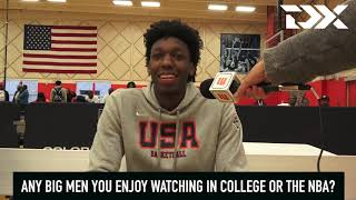 James Wiseman: 2018 USA Basketball Junior Minicamp Interview