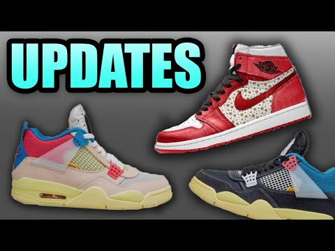 SUPREME Jordan 1s | UNION Jordan 4s | Sneaker Updates 62