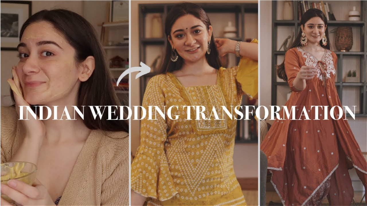 How To Get Ready For An Indian Wedding | Guest Transformation
