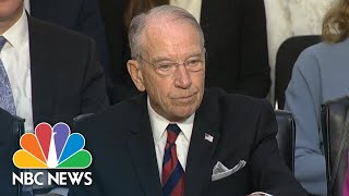 Brett Kavanaugh Hearing Begins As Democrats Seek To Delay Over Documents | NBC News