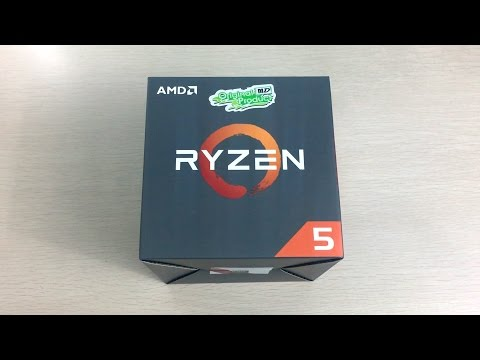 AMD Ryzen R5 1400 Unboxing and Overview - THE Ryzen R5 CPU to buy for gaming!