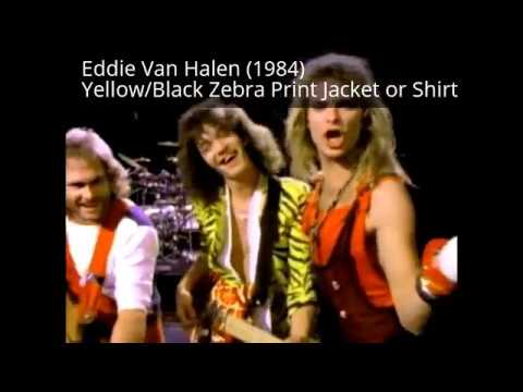 Rare/Colorful 80s Mens Rocker Clothes hard to find today!