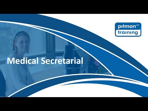 Medical Secretarial Courses and Diplomas with Pitman Training Kerry