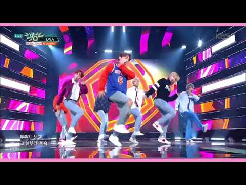 [BTS (방탄소년단) - DNA Comeback Week Stage Mix]