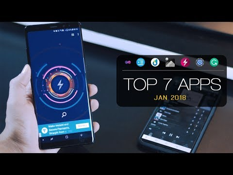 Top 7 Best Free Apps for Android - January 2018