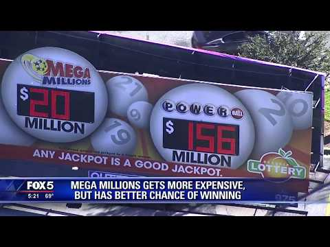 Mega Millions tickets to increase to $2