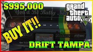 DRIFT TAMPA | Fully Upgraded Cunning Stunts | GTA 5 Online DLC