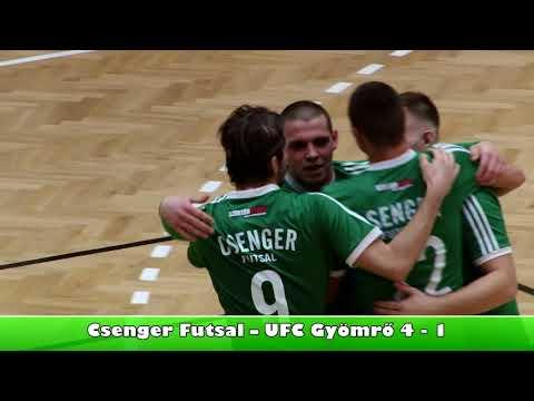 Futsal Csenger - UFC Gyömrő összefoglaló 2018.02.12.