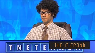 Moss On Countdown The IT Crowd Episode 2 series 4 - TNETENNBA