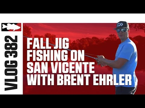 Brent Ehrler Jig Fishing On San Vicente In The Fall - TW VLOG #382