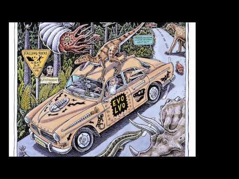 """""""Devonian Blues"""" by artist Ray Troll"""