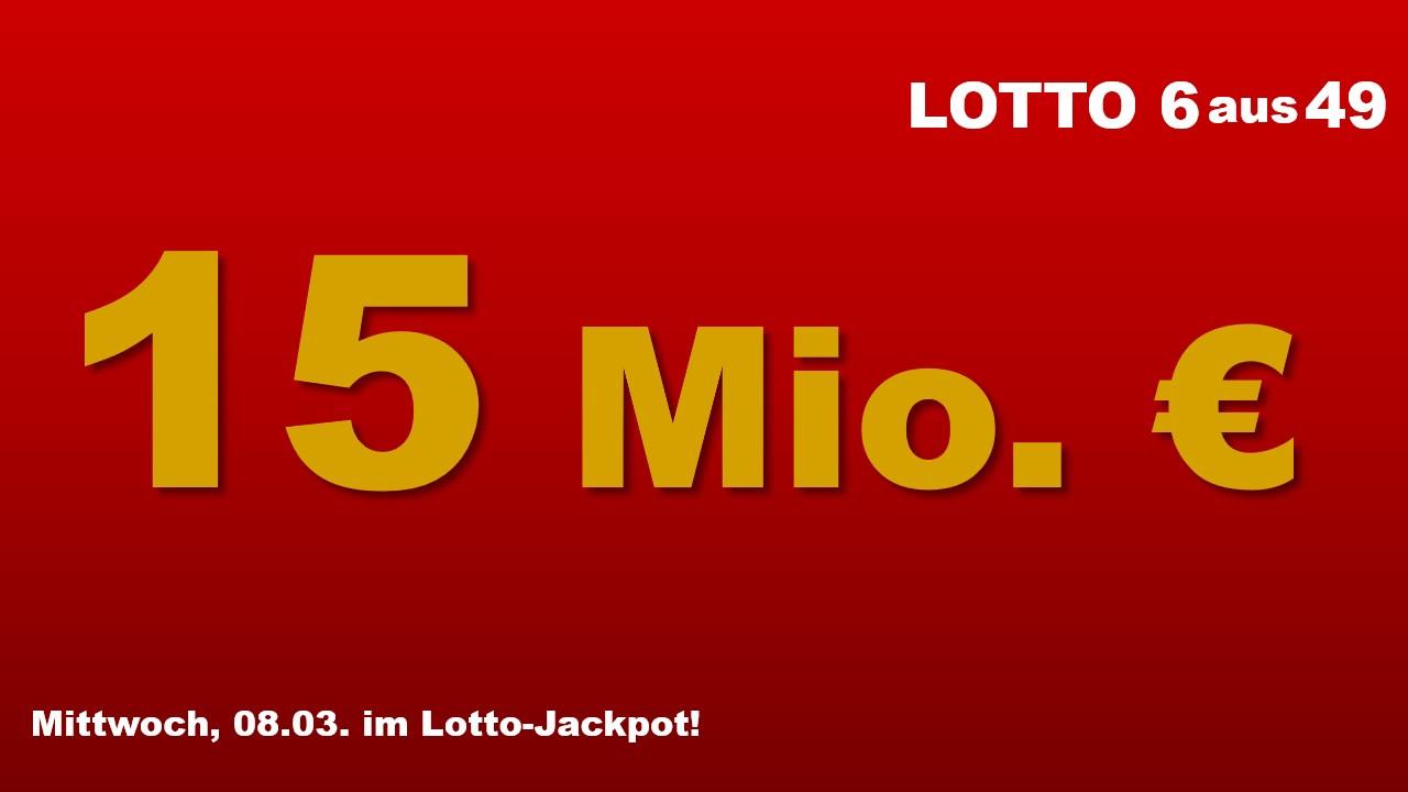 Lotto Jackpot Am Mittwoch