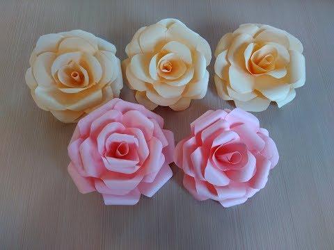 Как сделать цветы из обычной бумаги своими руками