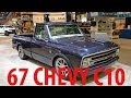 That are Real !!! This '67 Chevy C10 Is A Blue And Silver Centennial Celebration