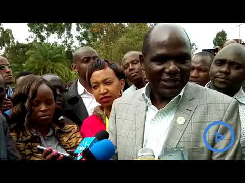 Chebukati says he will not resign before the October 26 repeat presidential elections