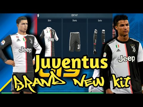pretty nice d2f24 ba5b0 How To Import The Brand New Juventus Kit in Dream League Soccer  2019[Android & IOS]