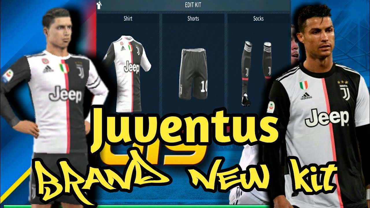 pretty nice 9f57c 4ea07 How To Import The Brand New Juventus Kit in Dream League Soccer  2019[Android & IOS]