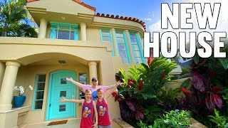NEW HOUSE!!