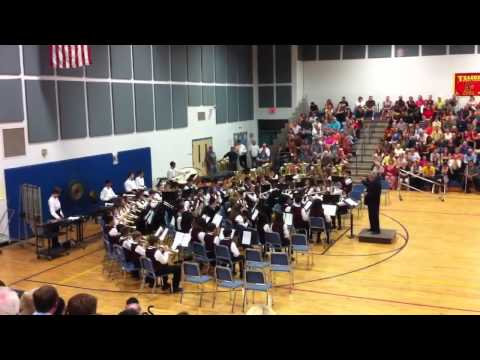 Teague middle school advance band