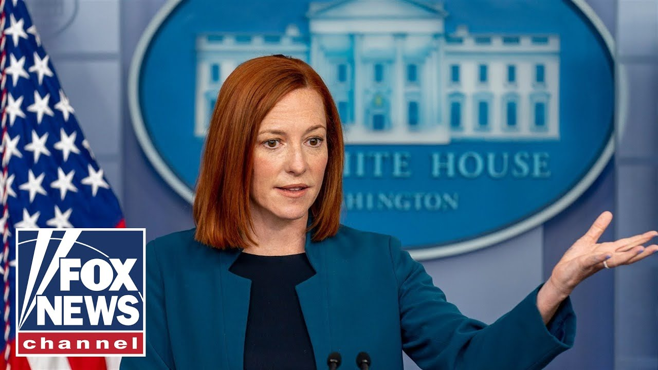 Jen Psaki holds White House press briefing