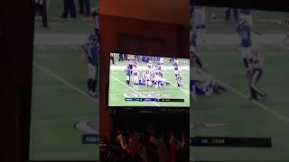 Cowboys Vs Eagles opening kickoff fumble 12/09/2018