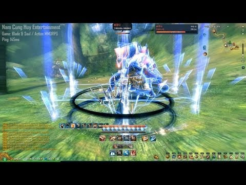 [Blade & Soul] Blade Master Lv.50 - New Skills Introduction & Combo Trial