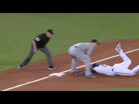 CWS@TOR: Eaton throws out Encarnacion at third base