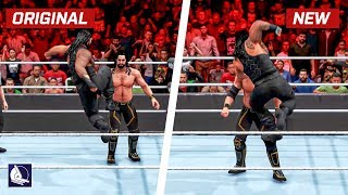 WWE 2K20 Top 25 New Moves Variations (Animations)