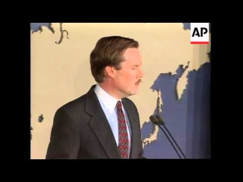 USA: WASHINGTON: REACTION TO SERBIAN GOVERNMENT'S PROMISES