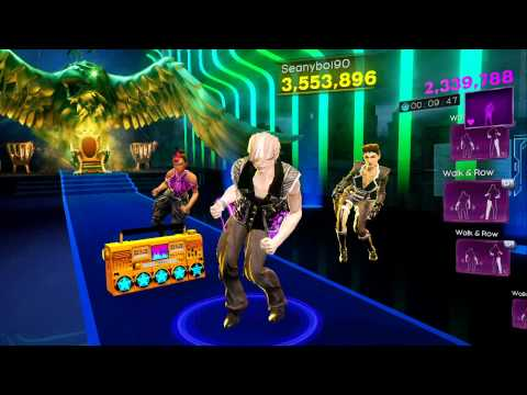 Dance Central 3 - Take Over Control (Hard) - Afrojack ft. Eva Simons - Gold Stars