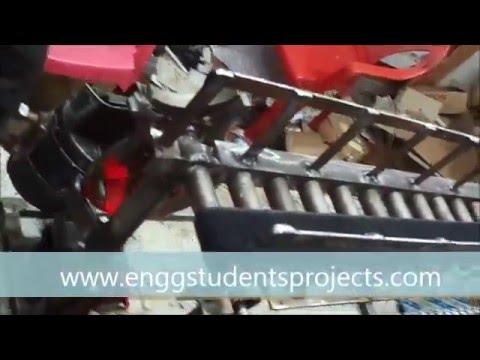 engineering students project---Working of Geneva Mechanism in Conveyor