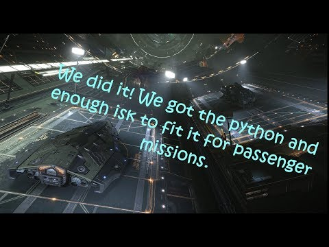 Elite: Dangerous - Gameplay - We did it in 15 hours. we are in Upsilon Aquarii making tons of credit