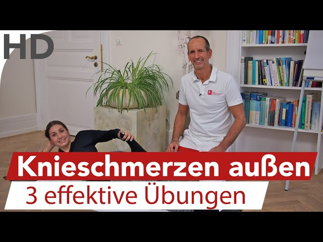 Knieschmerzen an der Aussenseite, Aussenband, Aussenmeniskus // Übungen