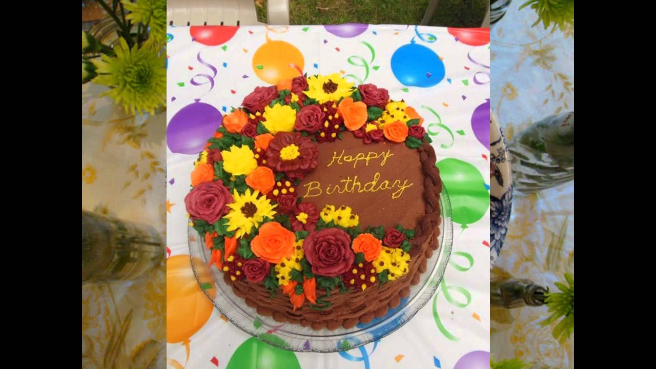 Fall birthday cake decorating ideas YouTube
