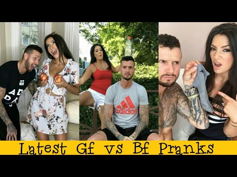 Funny Pranks 2019 || Girlfriend Vs Boyfriend Prank War 🔥🔥