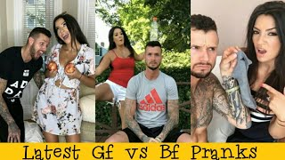 Funny Pranks 2019 || Girlfriend Vs Boyfriend Prank War 🔥🔥