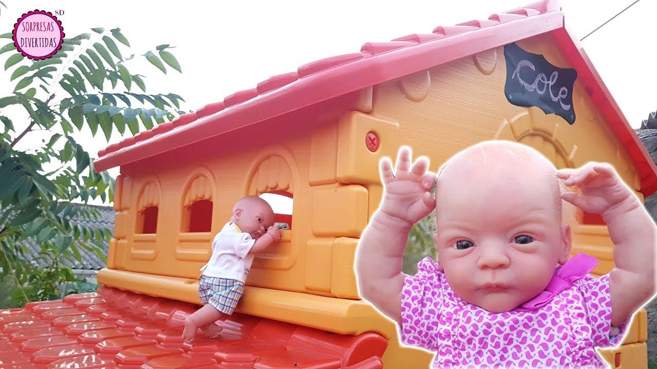 Bebés Reborn A La Escuela Lindea Y Ben Aprenden A Ser Baby Genios