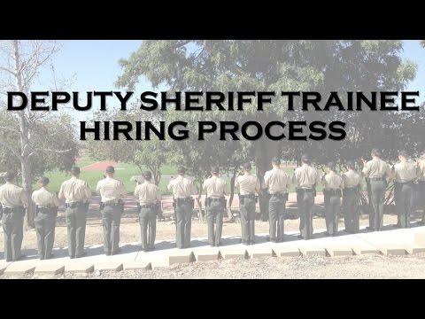 Deputy Sheriff Trainee Hiring Process