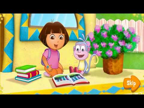kids study - ABC Song For Children - Dora the Explorer Game For Childre